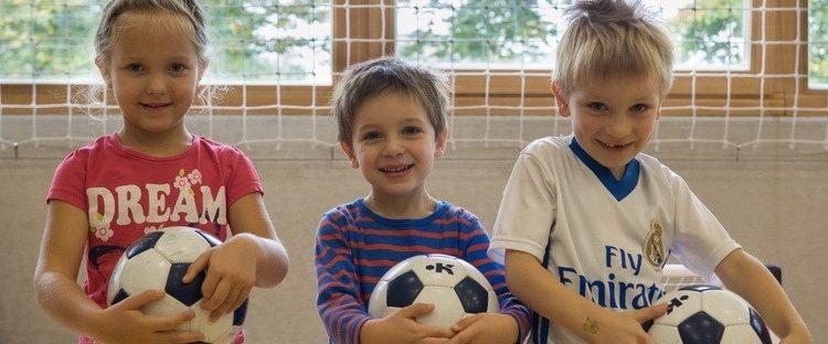 Nogomet za predšolske otroke