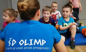 ŠD Olimp – Potekajo vpisi v sezono 2020/2021!
